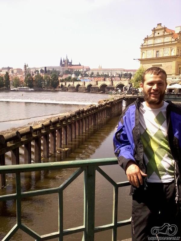 Kitas turistas tam pačiam mieste