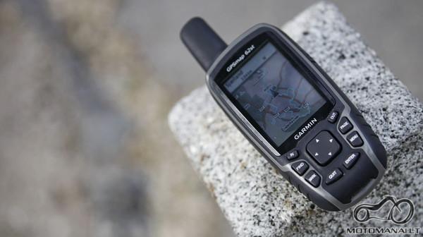 Naudojamas GPS'as