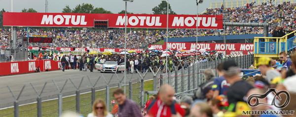 MotoGP line up.