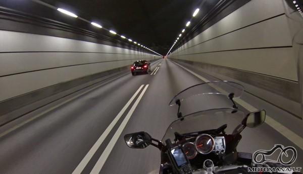 Øresundsbroen tunelis, prieš patį tiltą.
