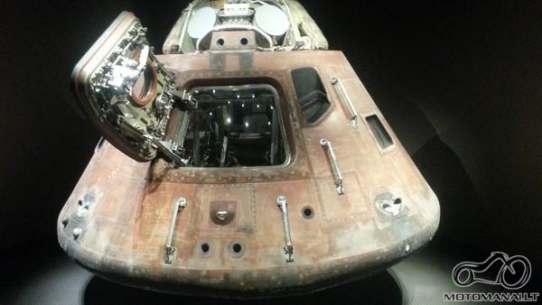 Apollo nusileidimo kapsule