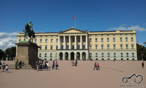 Norvegijos karaliaus rūmai