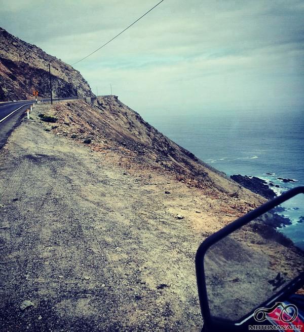 Panamericana (Western Pacific)-kelias i Mollendo, Peru