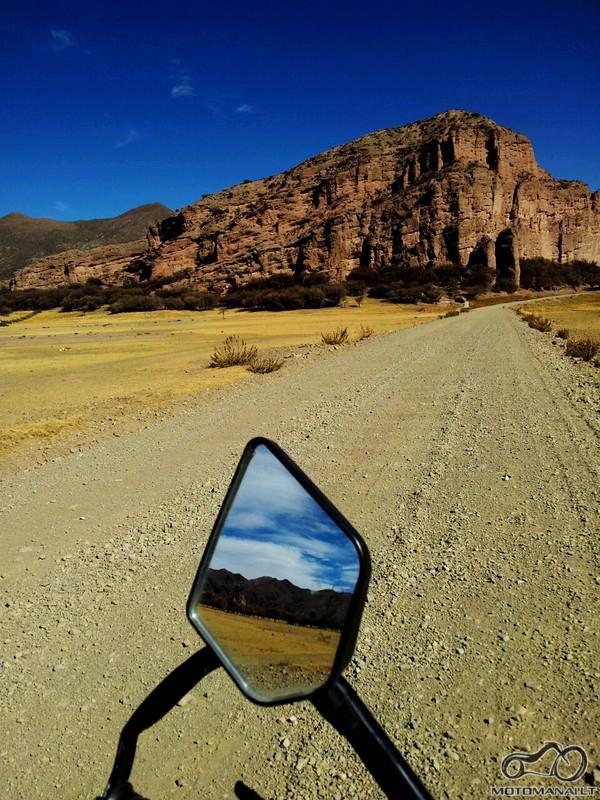 paskutiniai km iki Tupiza,Bolivia