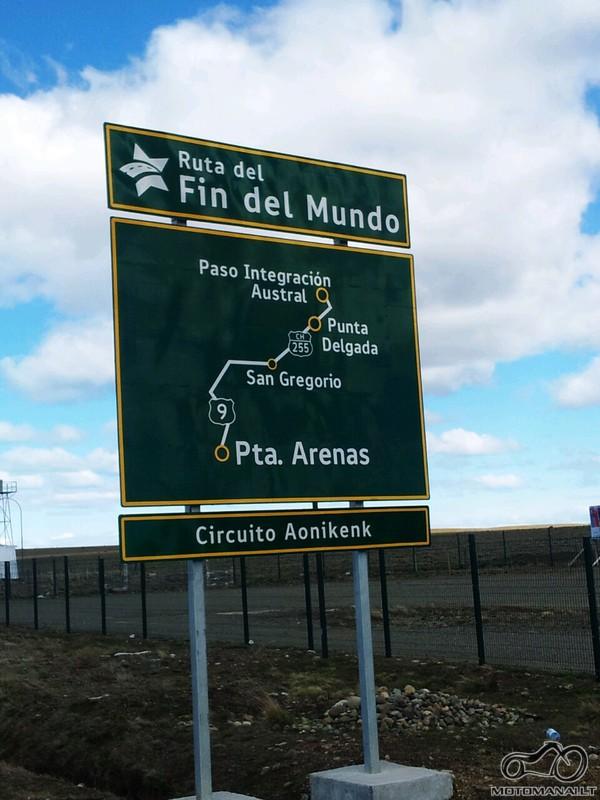 Cile, Ruta Fin del Mundo