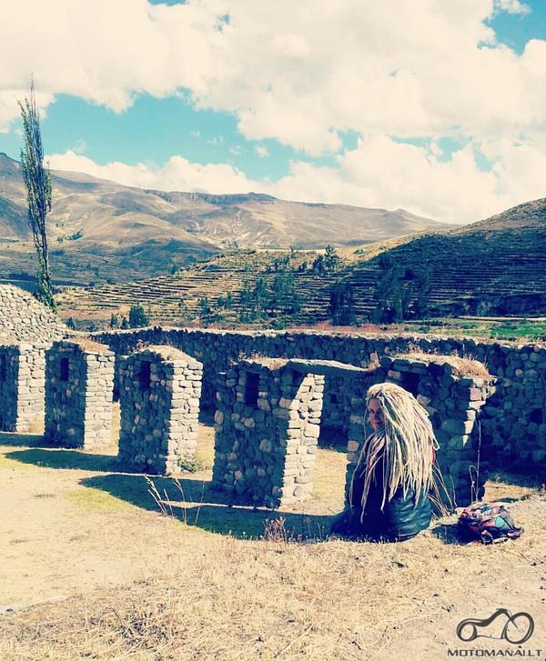vietinis mini Machu Picchu/Coporaque/ruinas de Uyu Uyu