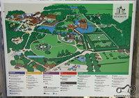 Egeskov sodų žemėlapis.
