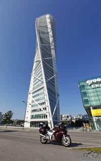 Turning Torso dangoraižis.