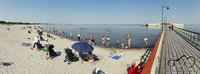 Rytinis Malmö paplūdimys.