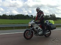 Kokiais motociklais keliaujate?