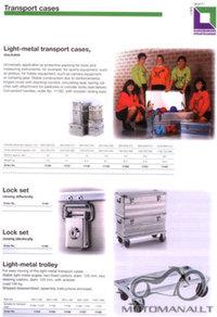 Namų darbo kelioninės dėžės iš aliuminio