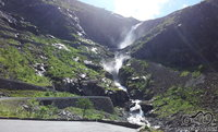 Trollstigen iš apačios