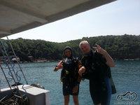 Aš su nardymo instruktorium, koraliniai rifai įspūdingi.