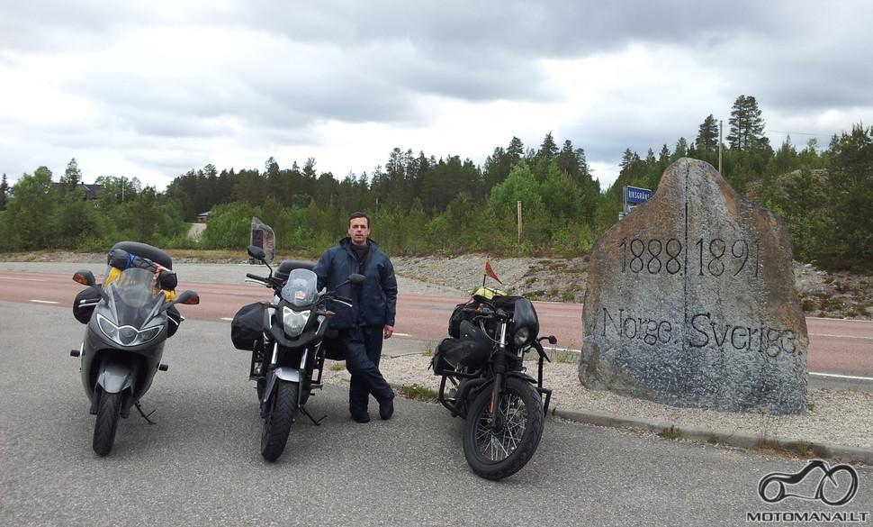 Norvegijos - Švedijos pasienis