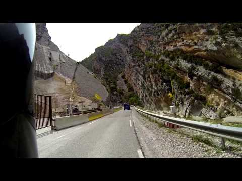 PART2. Motorcycle trip Europe, Suzuki GSR 750, France, Italy, Austria, GOPRO HERO3 BLACK