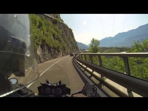 Trento, Italy by motorcycle Suzuki DL 650 V-Strom