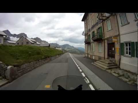 Svycarsko 2011, Furka Pass, BMW RT 1200