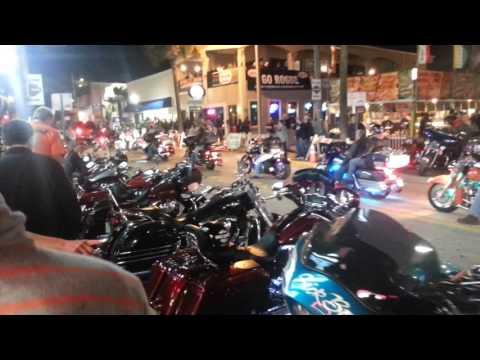 Daytona Beach bikeriu tusovke