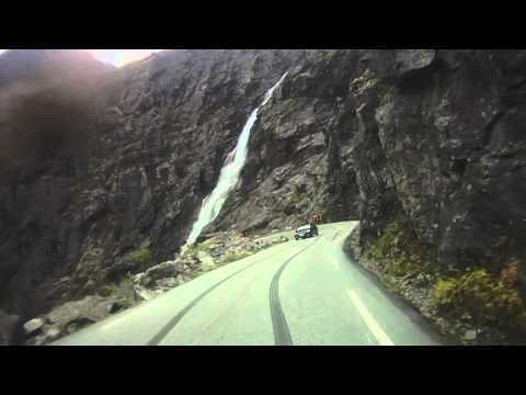 Trollstigen by Motorbike