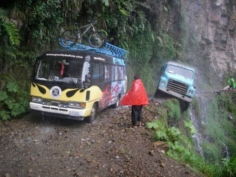 The Most Dangerous Roads In The World / 'The Road Of Death' / Bolivia