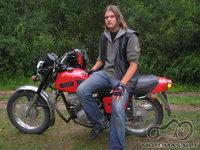 moto veteranas