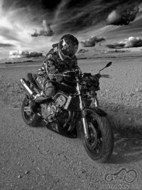 Kai susilieji su motociklu-filharmonija
