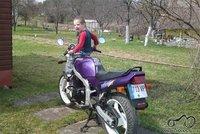 Ateme ir motocikla :(