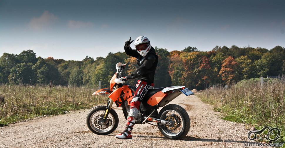 Rytis K. KTM EXC 450