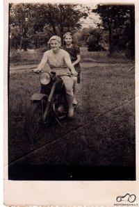 Mano senelė, ~1960 metai