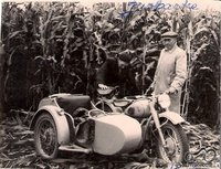 Jurbarke auginant kukurūzus 1957 m.