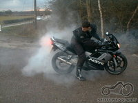Honda Nsr 125R Burnout