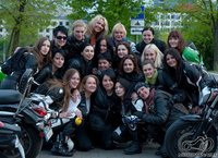 Motociklininkės Lietuva :)