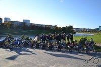 Suzuki Savage klubas uždarymo progą surengė pikniką prie Baltojo tilto Vilniuje.