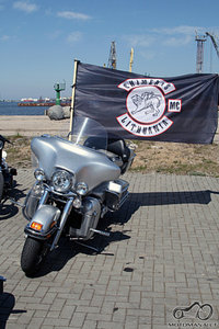 Foto is Chimerų Lt moto tūso Klaipėdoje 2008