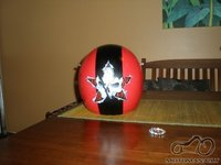 mano custom helmet