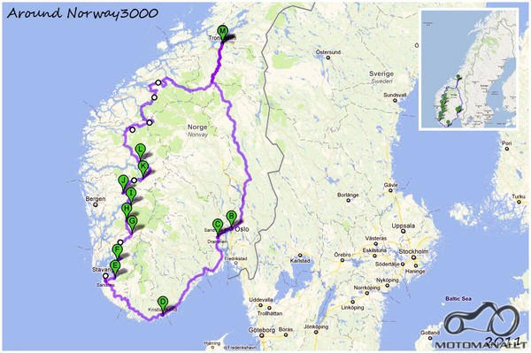 Around Norway 3000