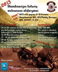 Skandinavijos moto sezono atidarymas 2013