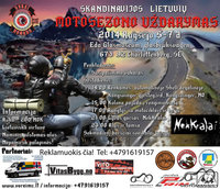 2014 metų Skandinavijos lietuvių motosezono uždarymas