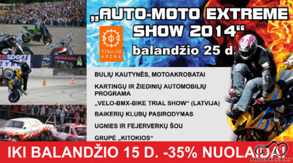 AUTO-MOTO EXTREME SHOW 2014