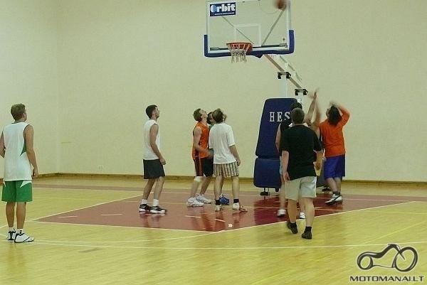 Krepšinis, tinklinis ir kiti kamuoliniai žaidimai