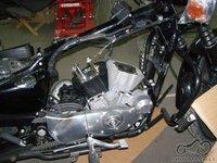 HD XL 883 to 1200 conversion. (Tsakant perdarImas)