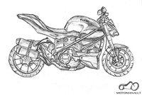 Nupiešiau savo svajonę - Ducati Streetfighter