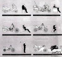 Asociacija pagal motociklo tipą
