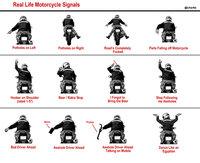 Biker signals