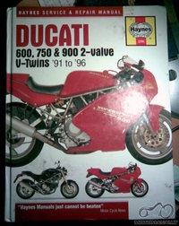 Ducati 600, 750 & 900 '91-'96 manualas