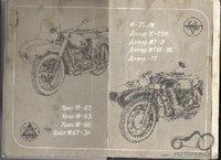 K-750M, K-750, M-72, MB 750, MT12,  manualai