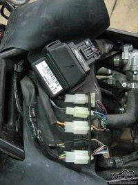 Honda CBR125R. Ribotuvai