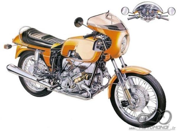 Atsakyta: BMW R90S 1974
