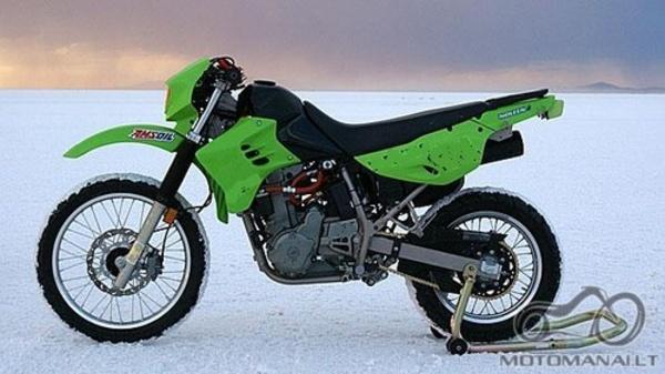 Atsakyta: Kawasaki KLR 650 Diesel
