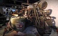 Atsakyta - motociklas su tanko varikliu